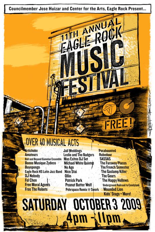 EagleRock MusicFestival2009